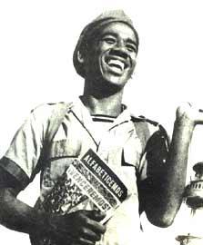 Maestro Voluntario en la Campaña de Alfabetización de Cuba -1962-