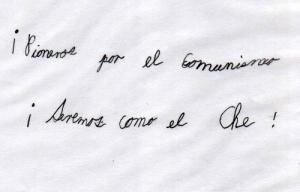 Manuscrito de Luis Mario (Nicaro, enero de 2004)