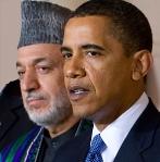 Karzai y Obama