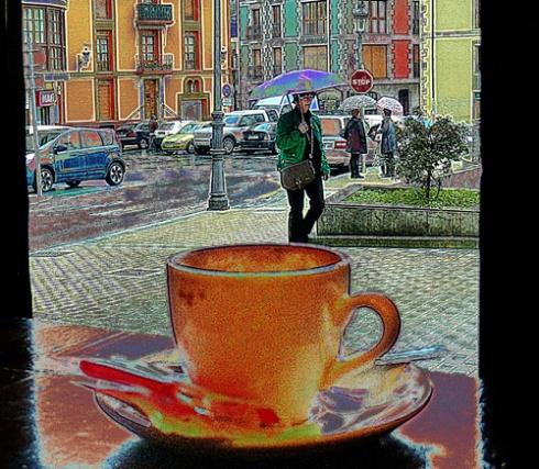 Tomando café 01 (Fotos: Paco Azanza Telletxiki)