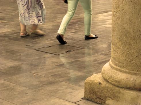 01 / Viendo a la gente pasar (Fotos: Paco Azanza Telletxiki)