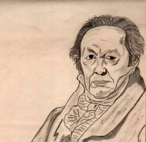Francisco de Goya, detalle
