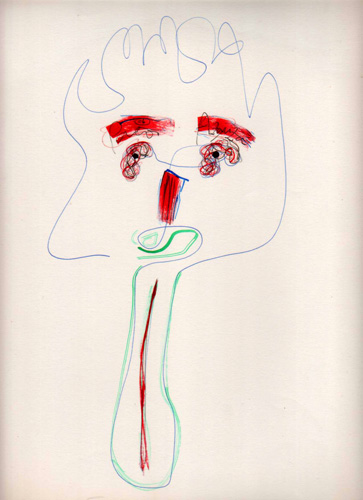 Sacando la lengua (Dibujo: Paco Azanza Telletxiki)