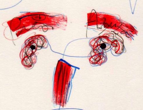 Sacándote la lengua, detalle (Dibujo: Paco Azanza Telletxiki)