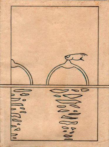 Dos soles en tu cuerpo, 1987 (Dibujo: Paco Azanza Telletxiki)