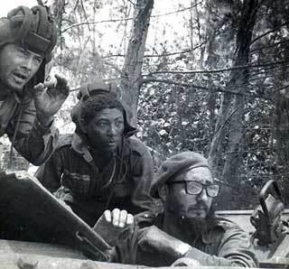 Fidel en Playa Girón