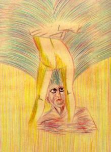 Placer y miedo,1987 (Pintura: Paco Azanza Telletxiki)