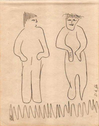 ExtraviaDOS, 1987 (Dibujo: Paco Azanza Telletxiki)