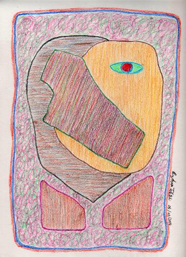 Observando (Pintura: Paco Azanza Telletxiki)