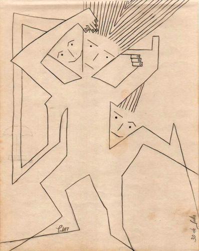 """diVERSOS estados (de ánimo)"", 1987 (Dibujo: Paco Azanza Telletxiki)"