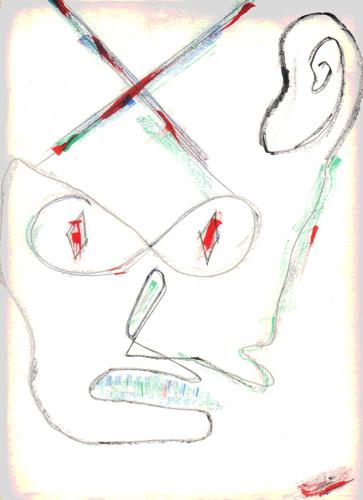Apología de la indignación, 1988 (Dibujo: Paco Azanza Telletxiki)