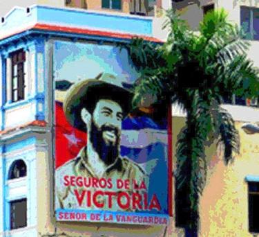 Camilo Cienfuegos, Avenida Garzón, Santiago de Cuba, 2010 Foto: Paco Azanza Telletxiki)