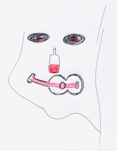 Adael, 1999 (Dibujo: Paco Azanza Telletxiki)