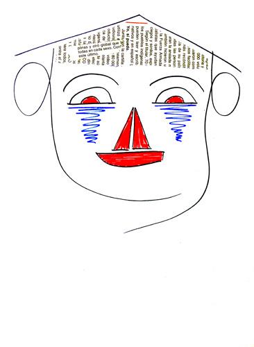 Sonrisa (03), 2014 (Dibujo: Paco Azanza Telletxiki)