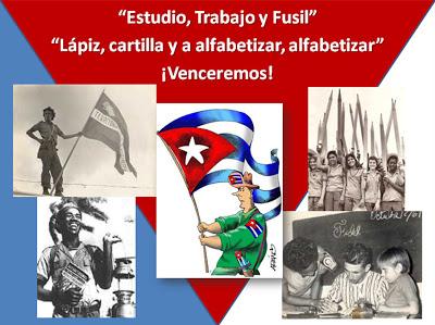 1961, Campaña de alfabetización en Cuba