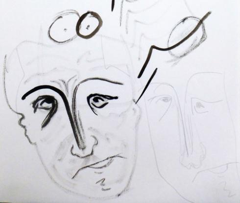 Perdido, 1988 (Dibujo: Paco Azanza Telletxiki)