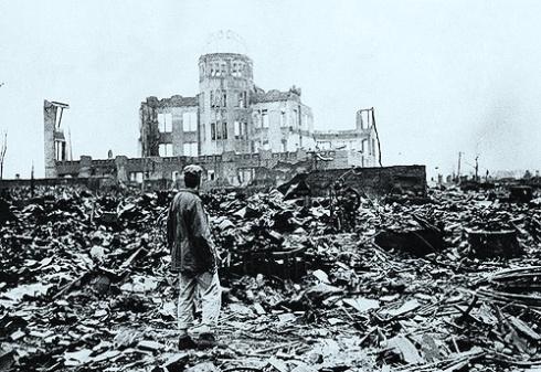 Hiroshima después del bombardeo