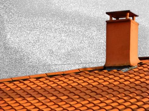 Chimenea y tejado, 2014 (Foto: Paco Azanza Telletxiki)