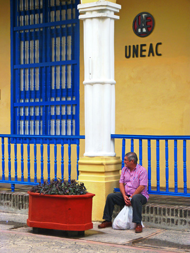 Sede provincial de la Unión de Escritores y Artistas de Cuba, Ciudad de Holguín, 2015 (Foto: Paco Azanza Telletxiki)