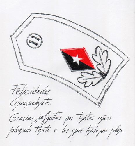 Felicidades Comandante (Paco Azanza Telletxiki) web