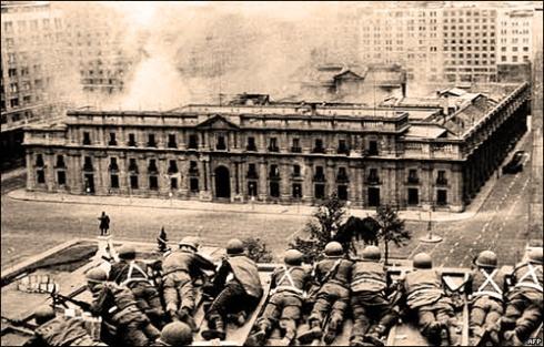 Asedio al Palacio de la Moneda, 11 de septiembre de 1973