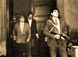 Salvador Allende el 11 de septiembre de 1973