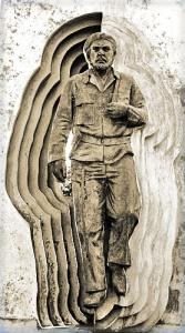 Fragmento del monumento a Ernesto Che Guevara en la Ciudad de Holguín, Cuba, 2010 (Foto: Paco Azanza Telletxiki)