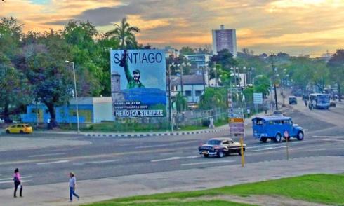 Atardeciendo en Santiago de Cuba, 2008 (Foto: Paco Azanza Telletxiki)