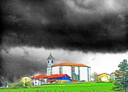 Día de tormenta, 2013 (Foto: Paco Azanza Telletxiki)