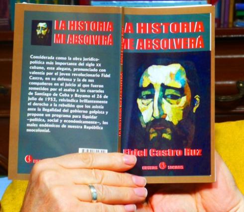 """Leyendo """"La Historia me absolverá"""", 2013 (Foto: Paco Azanza Telletxiki)"""