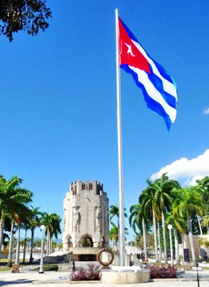 Mausoleo que acoje los restos de José Martí en el cementerio de Santa Ifigenia de Santiago de Cuba y, desde hoy también, los del líder histórico de la Revolución Cubana, el compañero Fidel (Foto: Paco Azanza Telletxiki, 2009)