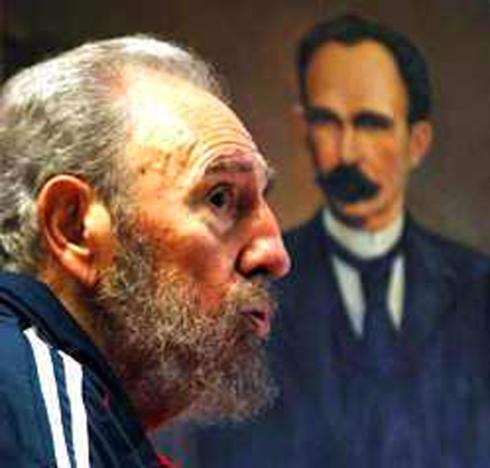 Fidel y Martí, dos Maestros