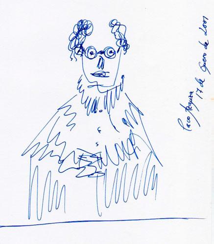 2001 (Dibujo: Paco Azanza Telletxiki)